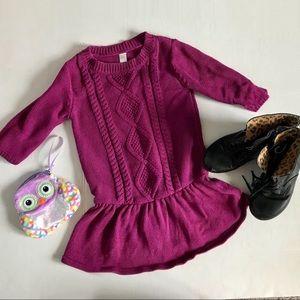 3/$20🌻Small Plum Sweater Dress